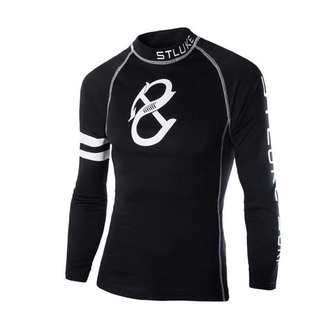 2017 Europa Moda de Los Hombres Camisa de Otoño de Manga Larga Camisa de Tes de Las Tapas de Invierno Salvaje camisa Masculina Polos Polos Pullover