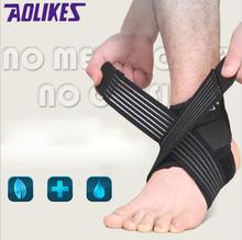 1PCS 2017 NEW Ankle Protector Sports Ankle Support Elastic Ankle Brace Guard Foot Support Sports Gear Gym