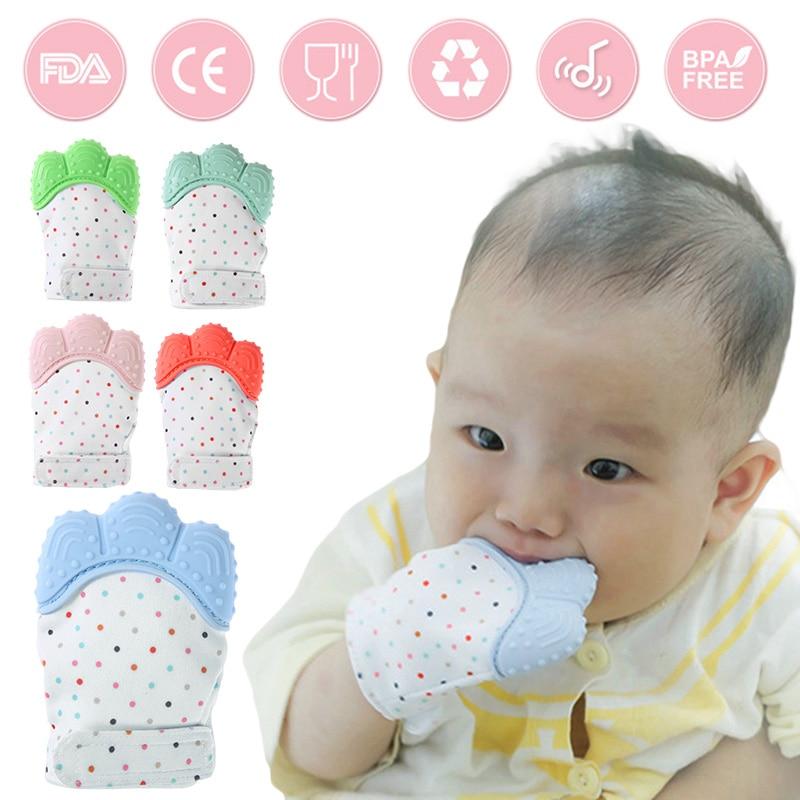 סיליקון בייבי תיתר מוצץ כפפות טבעית - טיפול בתינוק