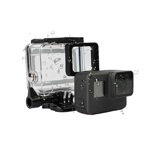 Image 2 - SnowHu for Gopro Hero 7 6 5 Accessories Waterproof Protection Housing Case Diving 45M Protective For Gopro Hero Camera LD08