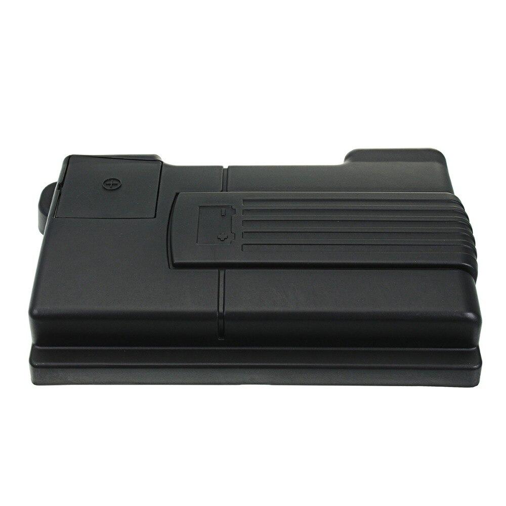 Auto Motor Batterie Staubdicht Abdeckung Negative Elektrode Wasserdichte Schutzhülle für Skoda Kodiaq für VW Tiguan L 16-18