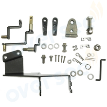OVERSEE 63V-48501-00 Remote Control Attachment Kit Replaces For Yamaha Parsun 9.9HP 15HP Outboard Engine