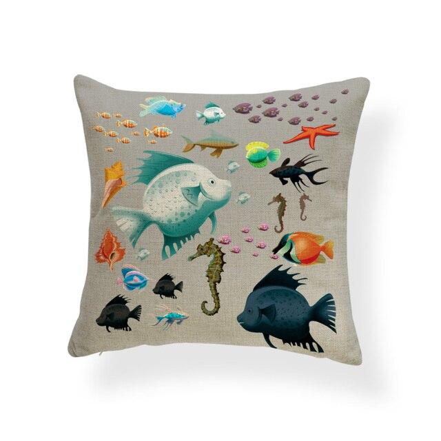 Cute Mermaid Cushion Covers  5