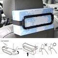Hot Car Viseira Tissue Holder Caixa de Papel De Armazenamento Organizador Automóvel Acessórios Clipe Bracket