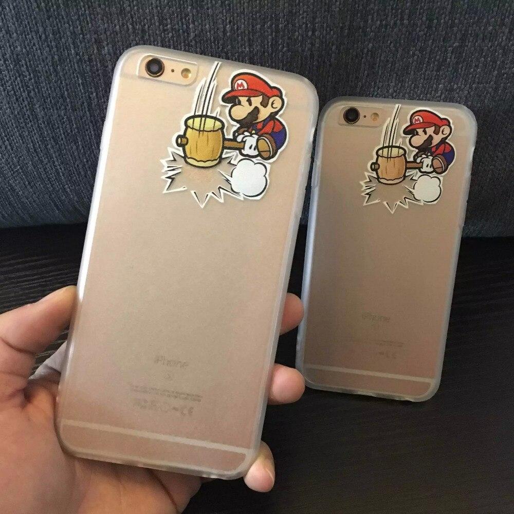 coque iphone 6 super mario