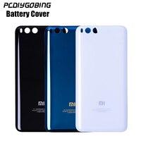 Official Back Battery Cover Mi6 Original Tempered Glass Case For Xiaomi Mi 6 Mi6 M6 Housing