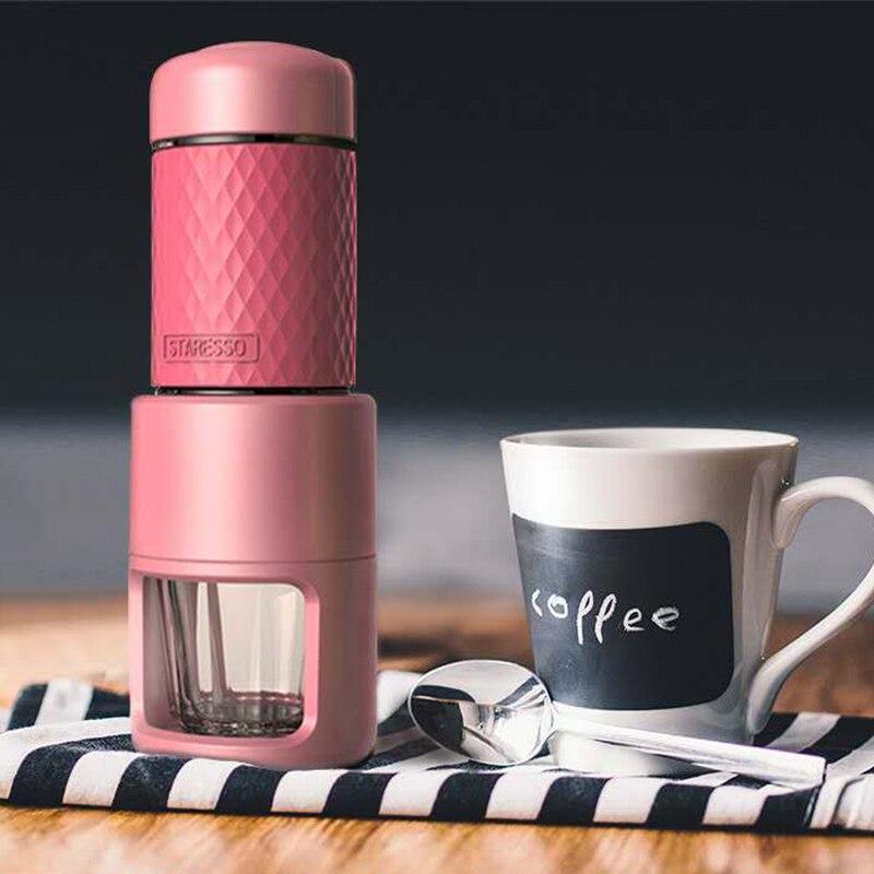 15 20BAR Американский STARESSO мини стороны давление Кофе машина портативный руководство эспрессо