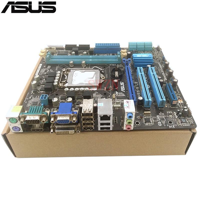 original Used Desktop motherboard For ASUS P7H55-M LE support LGA1155 I3 I5 I7 2*DDR3 support 8G 6*SATA2 USB2.0 UATX original used desktop motherboard for asus p5g41t m lx3 plus g41 support socket lga775 2 ddr3 support 8g 6 sata2 uatx