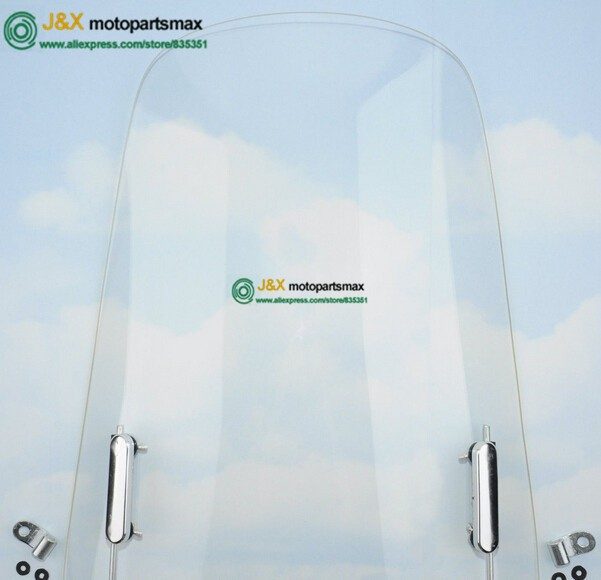MOTORCYCLE SCOOTER UNIVERSAL WINDSCREEN WINDSHIELD UNIVERSAL FOR SCOOTER MOPED ATV ... колпак diffusor k50 1