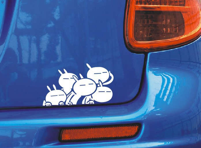 Car Back Stickers Kamos Sticker - Back window decals for cars