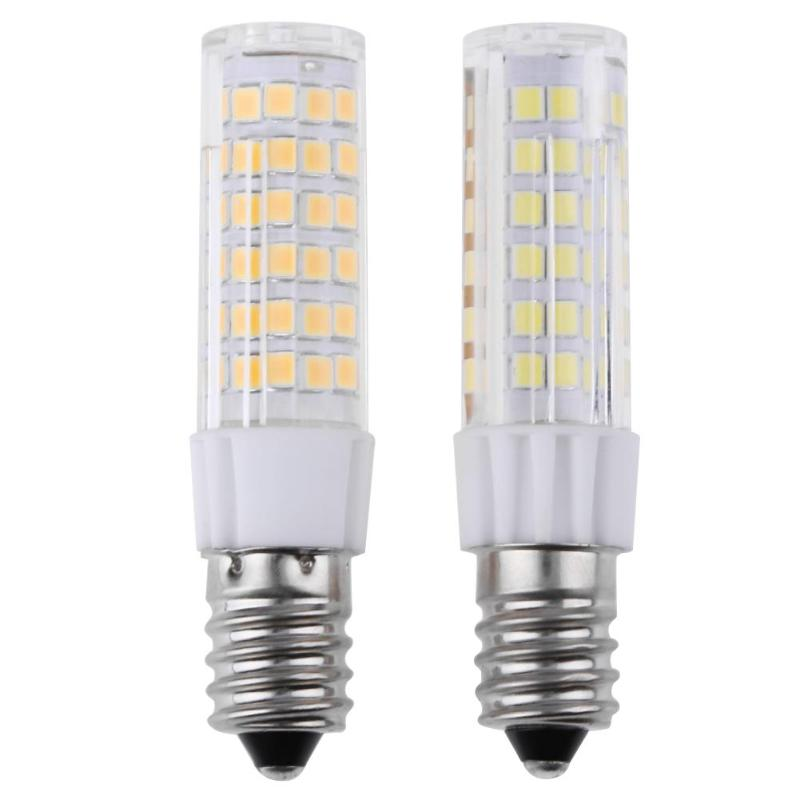 E14 75LEDs Corn Bulb Chandelier AC 220V-240V 440-460LM 5W 2835SMD Silicone Lamp Chip For Home Lighting LED Bulb
