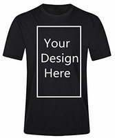 Design High Quality Men S Funny Crew Neck Short Sleeve Add Your Own Custom Text Personalized