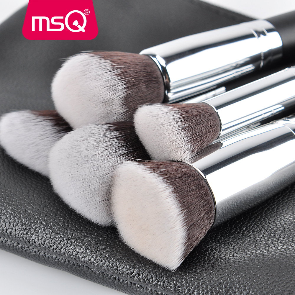 MSQ Pro 15st make-up kwasten set poeder foundation oogschaduw make-up - Make-up - Foto 3