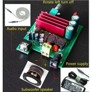 Image 5 - Aiyima TPA3116 100 W Subwoofer Panneau Damplificateur de Puissance Numérique TPA3116D2 Amplificateurs NE5532 OPAMP 8 25 V