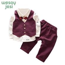 Kids Clothes Boys Clothes 3 Piece Set Boy Kids Streetwear 2019 Spring Autumn Children Clothing Kids Streetwear Tracksuit