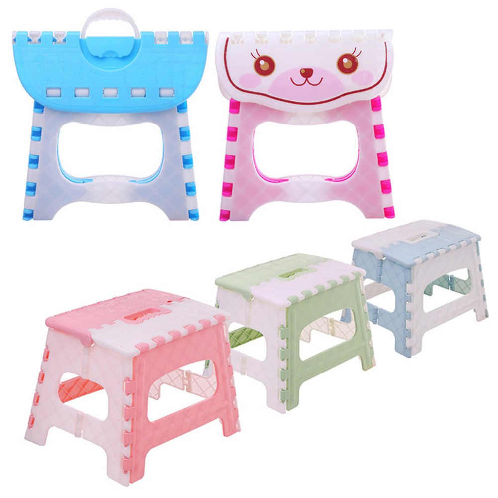 Swell Folding Step Stool Lightweight Step Stool Mini Cartoon Safe Stool For Kitchen Bathroom Bedroom Kids Or Adults Ibusinesslaw Wood Chair Design Ideas Ibusinesslaworg