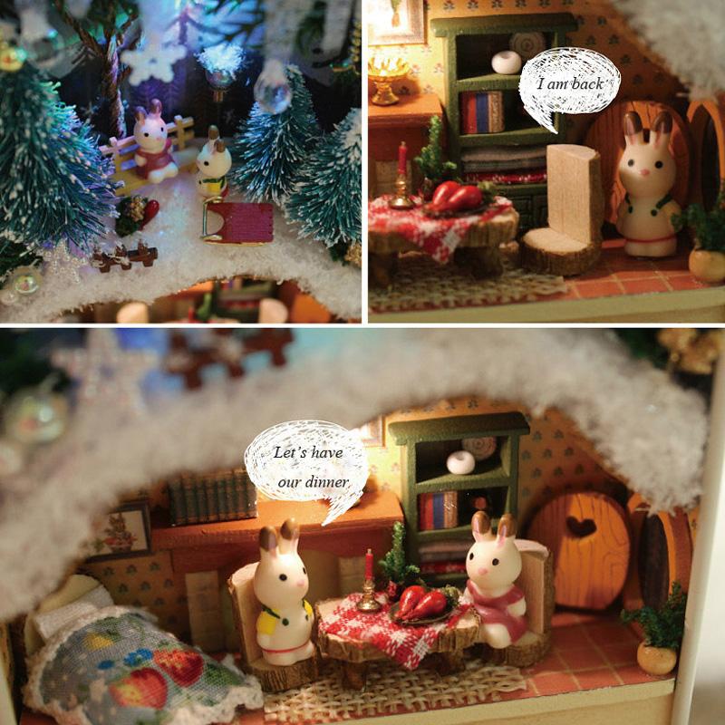 HTB11CdMbeuSBuNjy1Xcq6AYjFXaD - Robotime - DIY Models, DIY Miniature Houses, 3d Wooden Puzzle