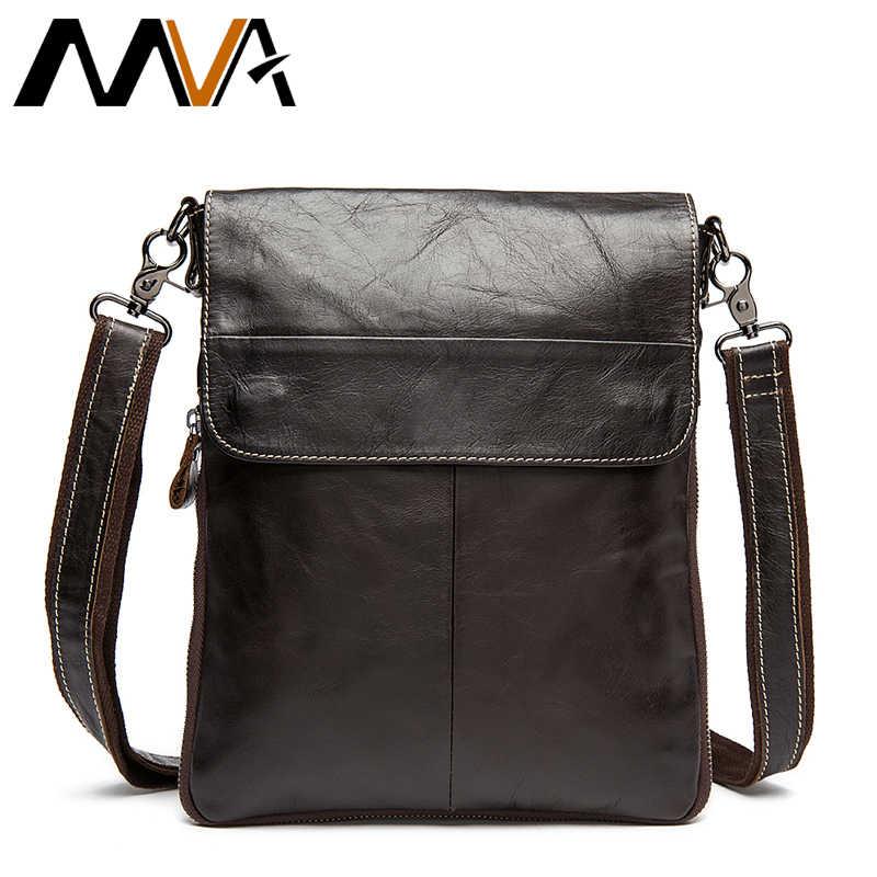 bcca0ab14146 MVA сумочка для телефона сумка через плечо мужская сумка мужская  натуральная кожа маленькие сумки мужские сумки