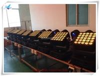 4lot CASE Equipment Special Effects Scene 5x5 Led Matrix Light Dmx 25 X12w Rgbw Led