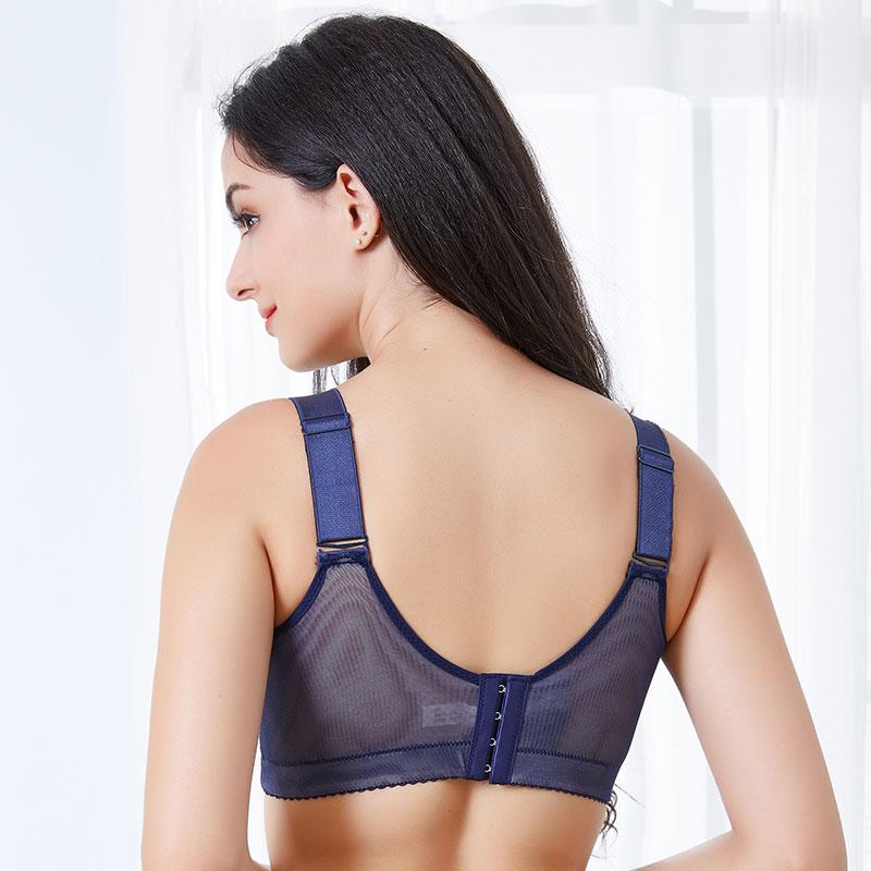 Female underwear Fat mm ultra thin lace anti light push up bra Agglomeration adjustment type big size bra lingerie femme in Bras from Underwear Sleepwears
