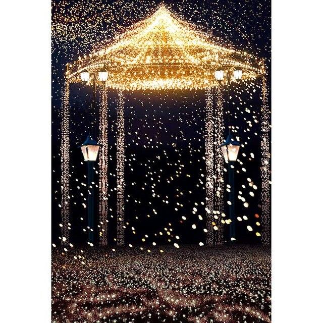 5X7ft Wedding Photo Studio Background Vinyl Photography Backdrops Star Highlights Romantic Aesthetic Fireworks Castle CM