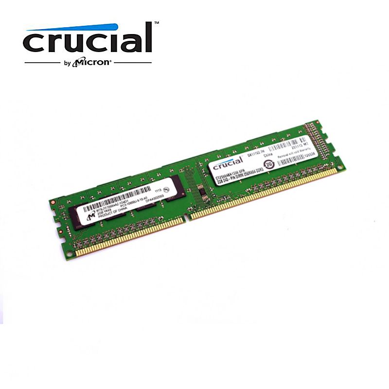 Crucial Desktop Memory RAM with 1GB/4GB/8GB Capacity and 1333MHz/1600MHz Memory Speed 3