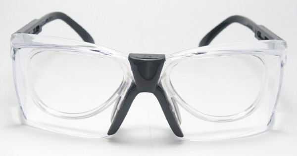 adjustable safety goggles rx inserted prescription clear