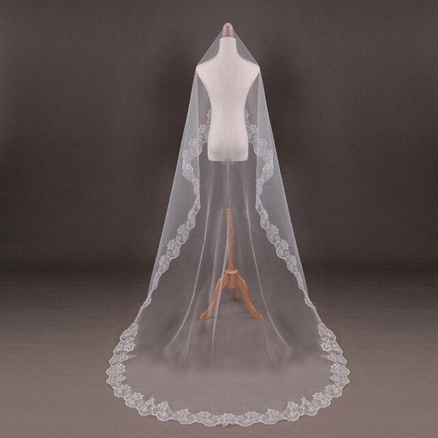 Wedding Bridal 2 Meters 3 Long One Layer Veil Elegant Accessories