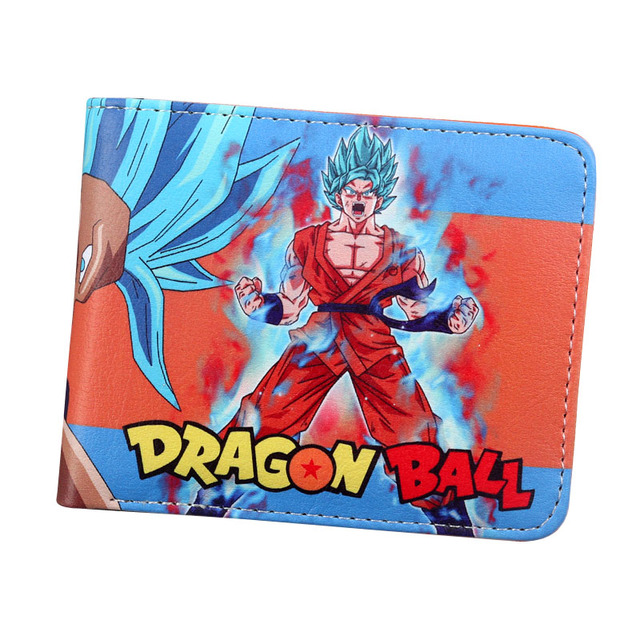 Dragon Ball Z Men Women Goku Short Purse Wallet