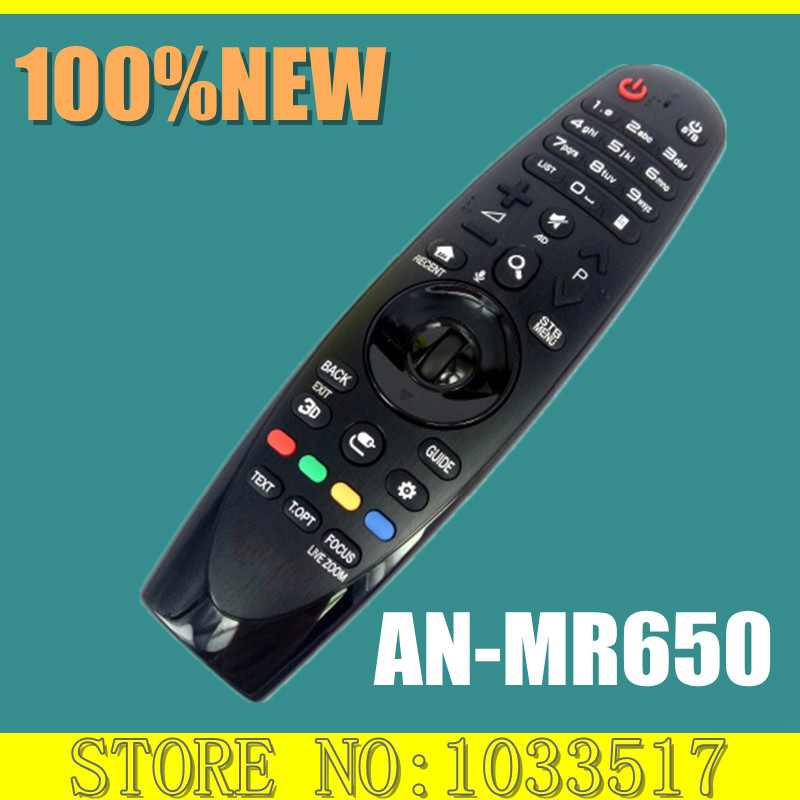 New Original Magic Remote AN-MR650 ANMR650 for LG SMART TV UH6550 UH6500 new an mr600g anmr600 magic remote control for lg 3d smart tv