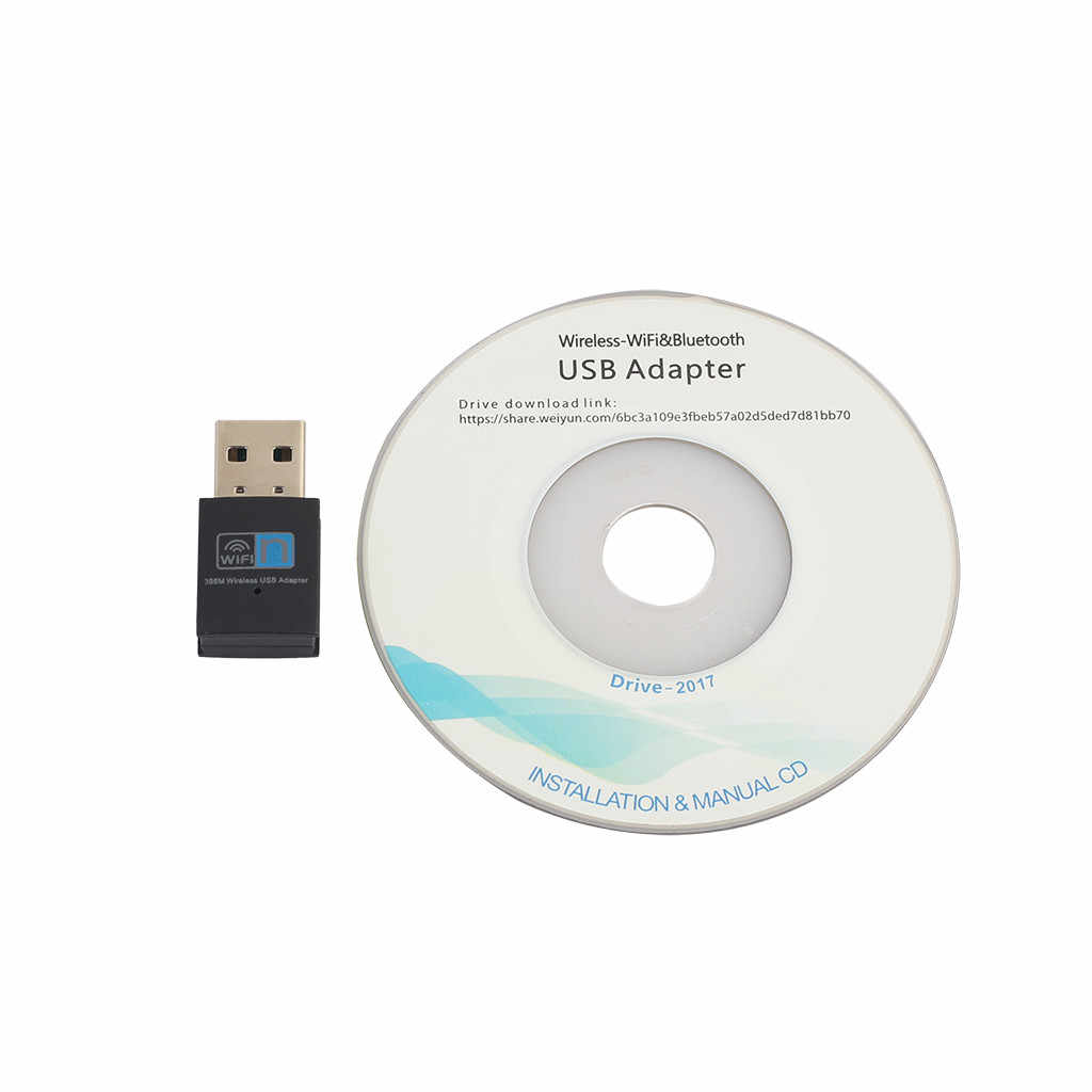 VOBERRY  300 Mbps WiFi Mini USB Adapter Wireless Doll Adapter 802.11 B G N LAN Home Wireless Network Card