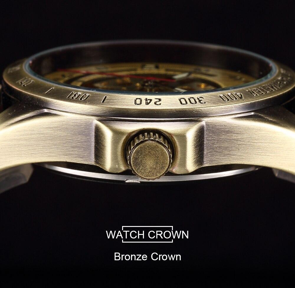 HTB11CfNXjnuK1RkSmFPq6AuzFXaD Skeleton Mechanical Watch Automatic Watch Men Steampunk Bronze Transparent Mens Automatic Mechanical Watches Clock montre homme