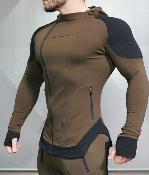 Мужской новый облегающий спортивный боди показывает идеальную фигуру мышц и дополнительный размер фитнеса