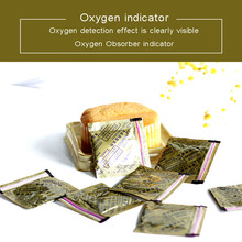 цена на 30CC Oxygen Absorbers indicator 400pieces individual bags Deoxidizer color changing oxygen indicator keep dry food fresh