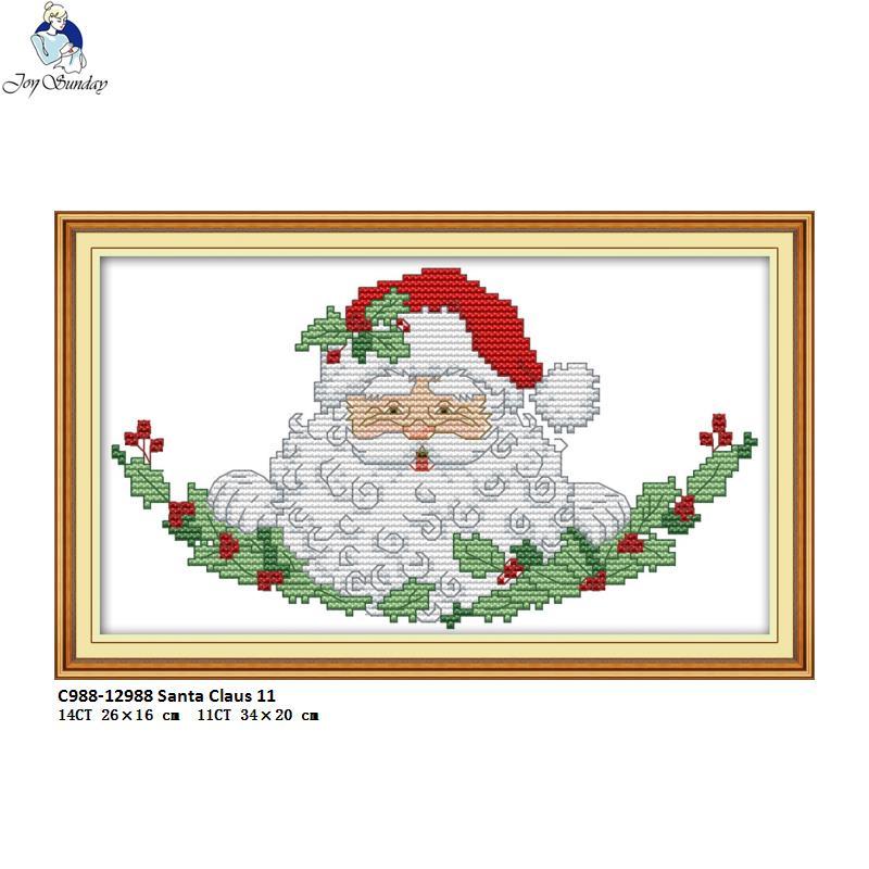 Joy Domingo colección de Navidad patrones DIY hecho a mano Cruz ...
