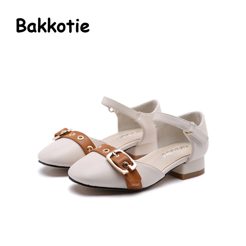 Bakkotie 2018 New Fashion Spring Autumn Baby Girl Casual Black Shoe Kid Brand Leisure Toddle Flat Children Princess Mary Jane