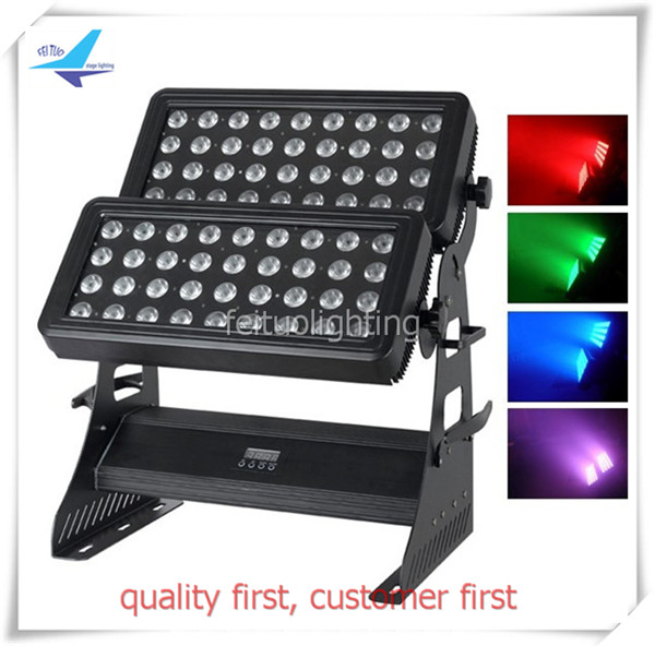 Commercial Lighting Fashion Style New Dmx Dj Light Rgbw 72x12w 4in1 Led Wall Washer Outdoor Ip65 Waterproof Dmx Lighting City Color Led Lights & Lighting