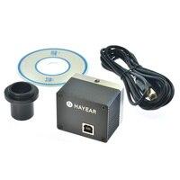 5.0MP USB Máy Ảnh Kính Hiển Vi Kit Calibrator Kỹ Thuật Số Ngành Công Nghiệp Kính Hiển Vi Hiệu Chỉnh Phần Mềm Đo Lường cho Win10/WIN8/WIN7