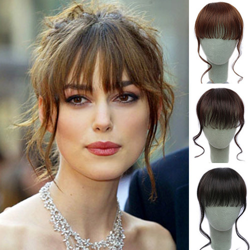 curly hair with fringe styles cheap bangs hairpieces flimsy curly fringe with wavy 6624 | Cheap bangs hairpieces flimsy curly Fringe with wavy sideburns clip in synthetic fringe hair extensions fashion