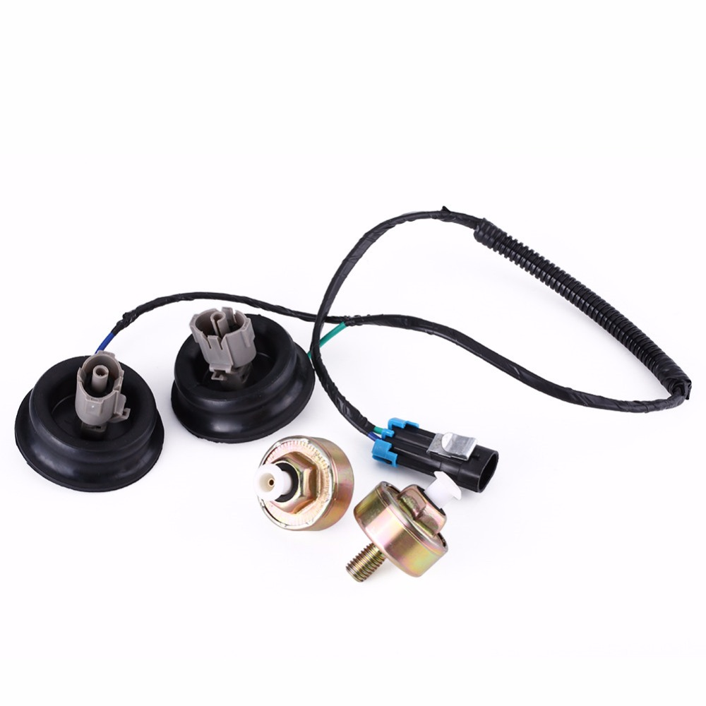 Car Auto Knock Sensor With Harness Connectors For Cadillac