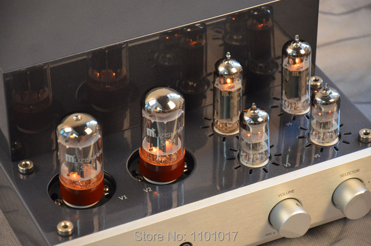 MUZISHARE X3T El84 tube amplifier HIFI EXQUIS Class A singal-ended double rectifier lamp amp MZSX3T appj pa1601a 6p14 el84 tube amplifier wifi bluetooth usb sd multi receiver decoder lamp amp hifi exquis