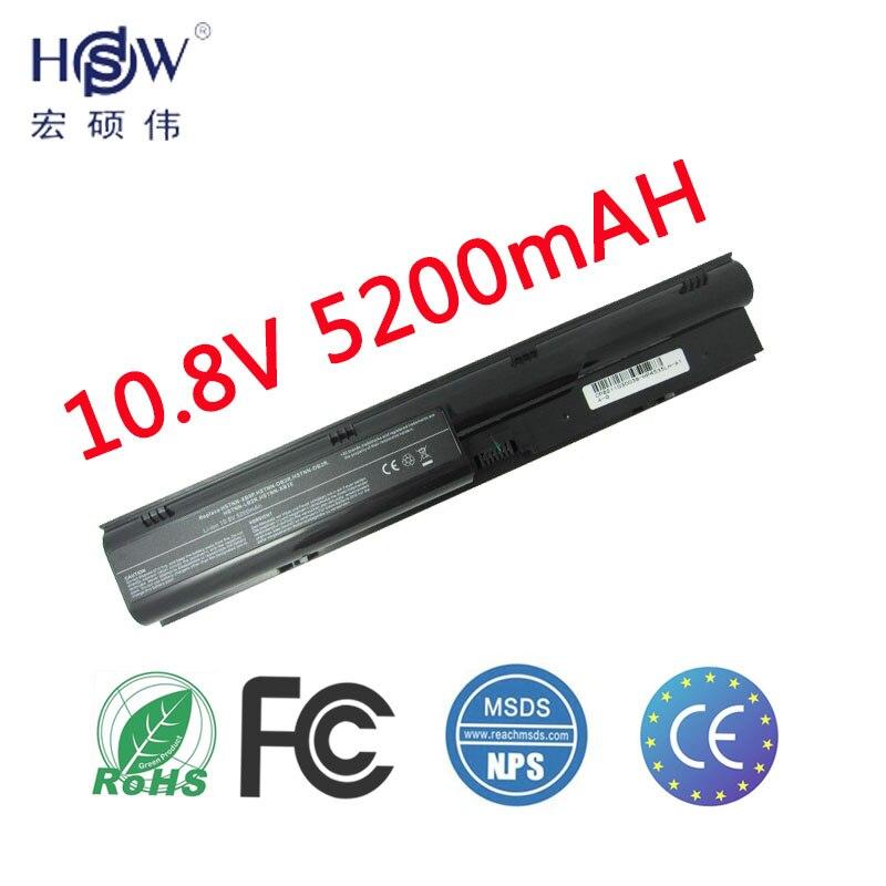HSW 6cell bærbar batteri 633805-001 633733-321 HSTNN-OB2R Til HP ProBook 4330s 4331s 4430s 4431s 4435s 4436s 4530s 4535s