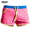 TQQT mens board shorts low waist quick drying shorts elastic waist beach shorts solid jogger boxer shorts 3 colors 5P0470