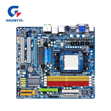 100% Gigabyte GA-MA78GM-US2H Motherboard For AMD Phenom FX/X4/X3 780G DDR2 16GB AM2/AM2+/AM3 MA78GM US2H Desktop Mainboard Used amd athlon 64 x2 5000x brisbane socket am2 2 6ghz 62nm 65w dual core desktop processor