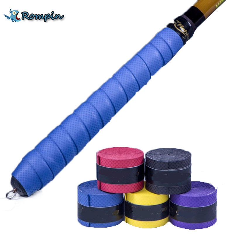 Rompin Knopper wrap sweat absorbing belt fishing rod overwraps cover tape insulating sleeve fishing tackle accessories water absorbing oil absorbing cleaning cloth