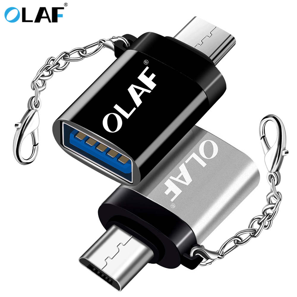 Olaf USB Adapter Micro USB OTG UBA To Micro USB UBA Converter OTG Cable Adapter For For Xiaomi Micro USB Connector For Huawei