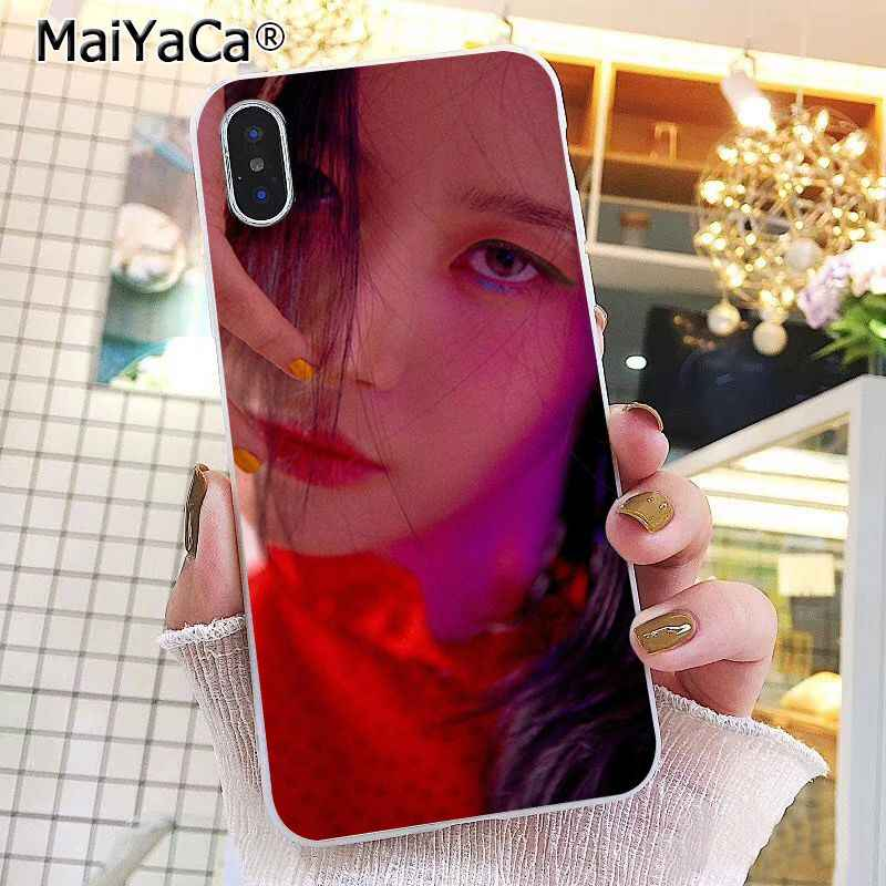 MaiYaCa IU Lee Ji-eun Kpop Girl  Phone Case For iphone 11 Pro 11Pro MAX 8 7 6 6S Plus X XS MAX 5 5S SE XR