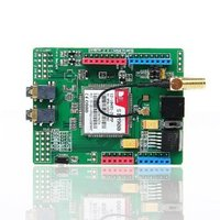 SIM900 Quad Band GSM GPRS Shield Development Board For Arduino Free Shipping