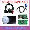 Novo VCI Única placa de forma Um +++ Qualidade tcs cdp pro plus com bluetooth para carros e caminhões como Multidiag pro +
