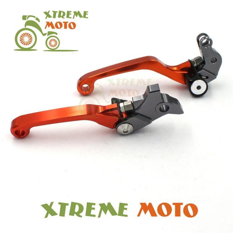 Orang CNC Billet Pivot Foldable Brake Clutch Levers For KTM 65SX 65XC 85SX 85XC 105SX 105XC Motocross Motorcycle Dirt Bike